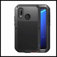 Shockproof Waterproof Heavy Duty Protection Doom Armor Metal Aluminum Phone Case for Huawei P20 Lite Nova 3e Case 360 Cool