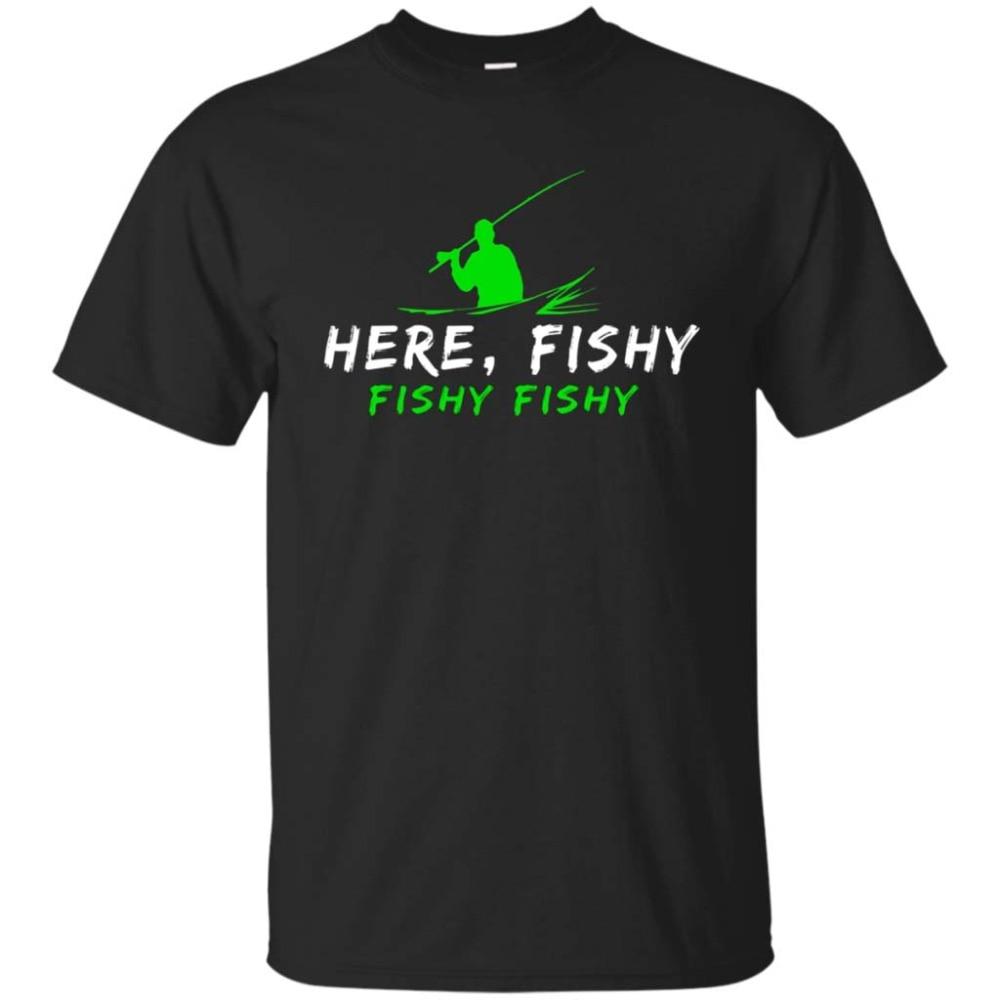 Here, Fishy Fishy Fisher T Shirt