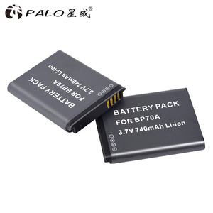Image 4 - PALO 6X BP 70A BP 70A BP70A Recarregável Bateria de íon Li Para Samsung PL80 PL90 PL100 ES70 SL50 SL600 ST30 ST60 ST65 TL105 câmera