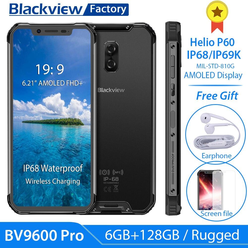 Blackview BV9600 Pro 6GB 128GB P70 AI Octa Core Smartphone 4G Android 9 0 6 21