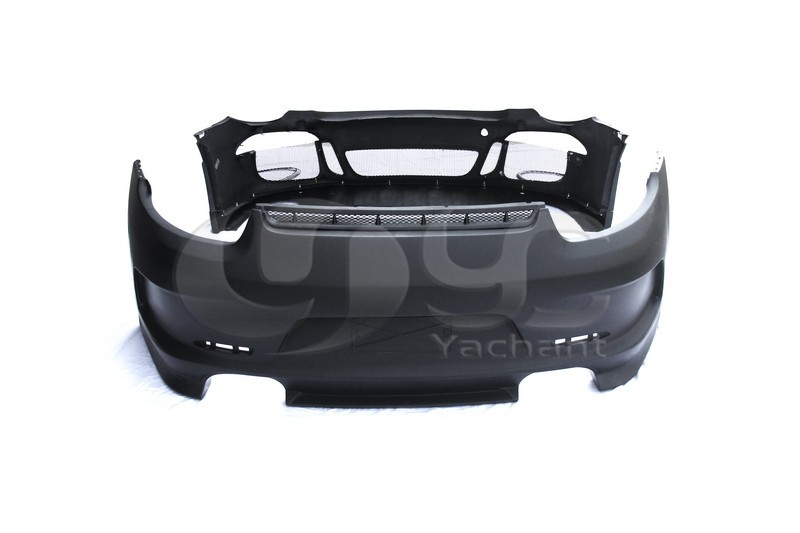 2012-2014 Porsche 911 991 Carrera & Carrera S GT3-RS Style Body Kit Left & Right Dual or Quad Exhaust Opening FRP (6)