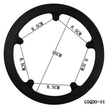 Free shipping bicycles crankset accessories  plastic Chain wheel cover Guard Ring protect cap