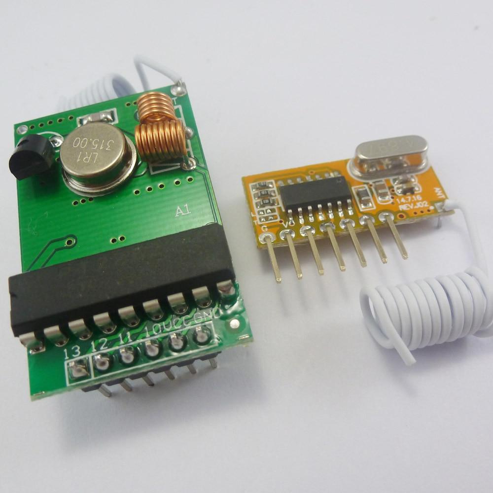 TB417*1+TB218*1 315MHz PT2262 encoder for Arduino Decoder RF Transmitter Receiver Link Kit