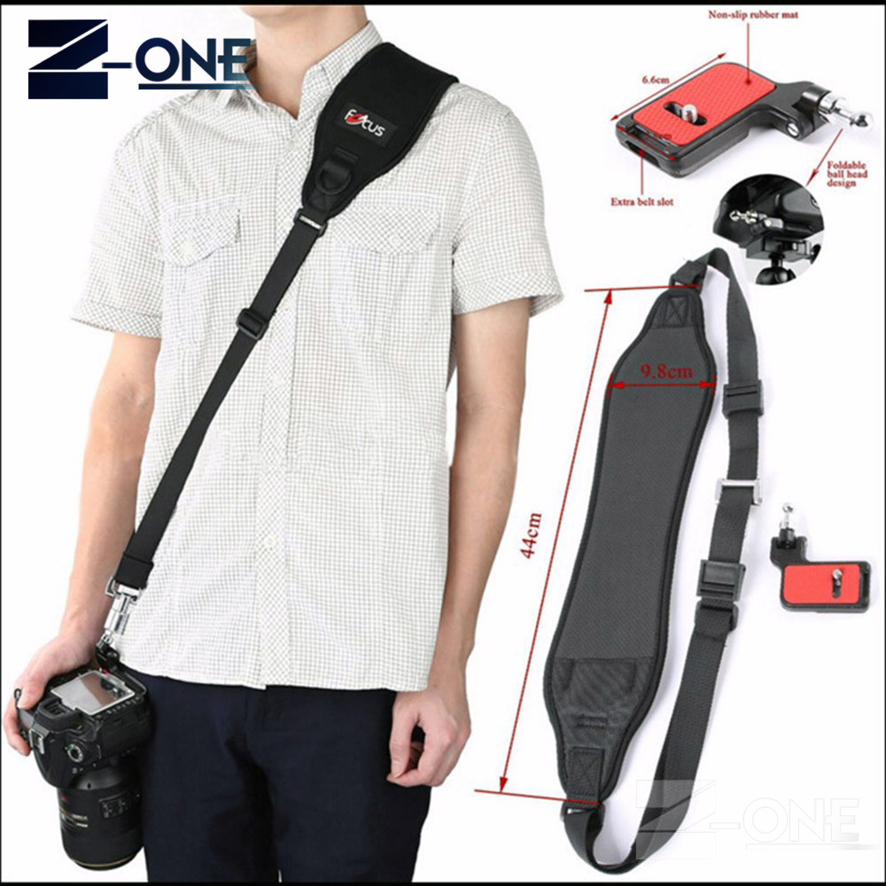 Focus F-2 f2 Quick Rapid Sling Shoulder Belt Neck Strap For canon nikon sony pentax olympus fuji DSLR Camera