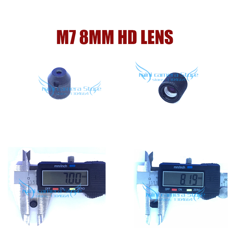HD mini camera M7- 8MM Pinhole lens for cctv video surveillance camera CCD/CMOS/IPC/AHD IP Cctv Camera DIY Module Free shipping gotake mini security camera cctv ahd 1080p 3 7mm pinhole lens 1 3 ccd wired surveillance analog video bullet type with stand