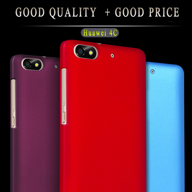 size 40 fc2d7 5a77b US $2.35 31% OFF|For Huawei Honor 4C Case Matte Thin Anti skid Rubber  Frosted Hard PC Plastic Cover Bags Fundas for Huawei G Play Mini Phone  Case-in ...