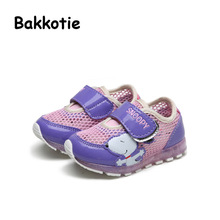 Bakkotie 2017 New Spring Autumn Fashion Child Baby Boy Casual Sneaker Leisure kid Brand Girl Breathable First Walkers Mesh Red