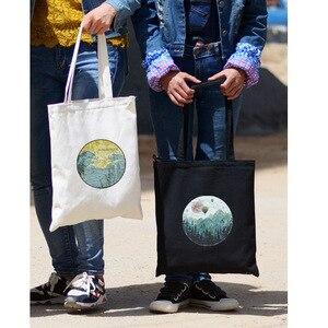 Сумки через плечо для женщин 2020 брендовые новые Мультяшные принты на молнии женские модные холщовые повседневные школьные сумки для студентов сумки