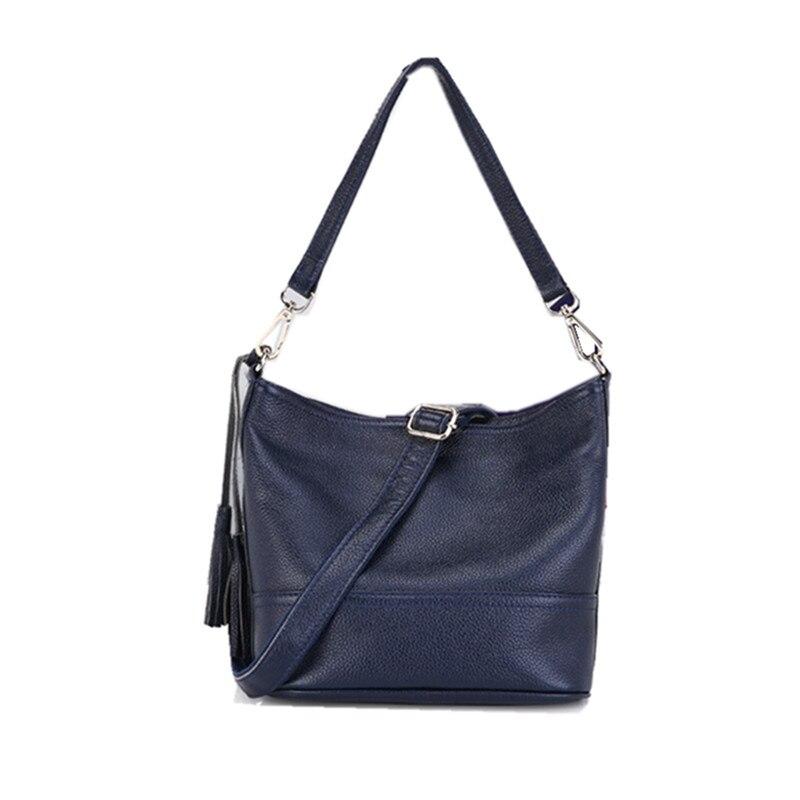 100% ehtne nahk Messenger kotid kuulus brändi naised õlakotid sidur - Käekotid - Foto 2