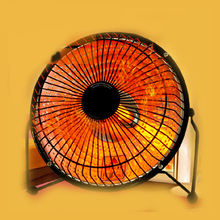 Electric Heaters promotion mute Students office Home Desktop heater Mini quartz tube type small solar heater stove electric fan