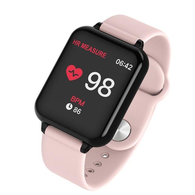 Men Women Smartwatch 1.3 IPS Heart Rate Monitor Blood Pressure for Huawei Samsung xiaomi phone Smart Watch Y77 waterproof Band