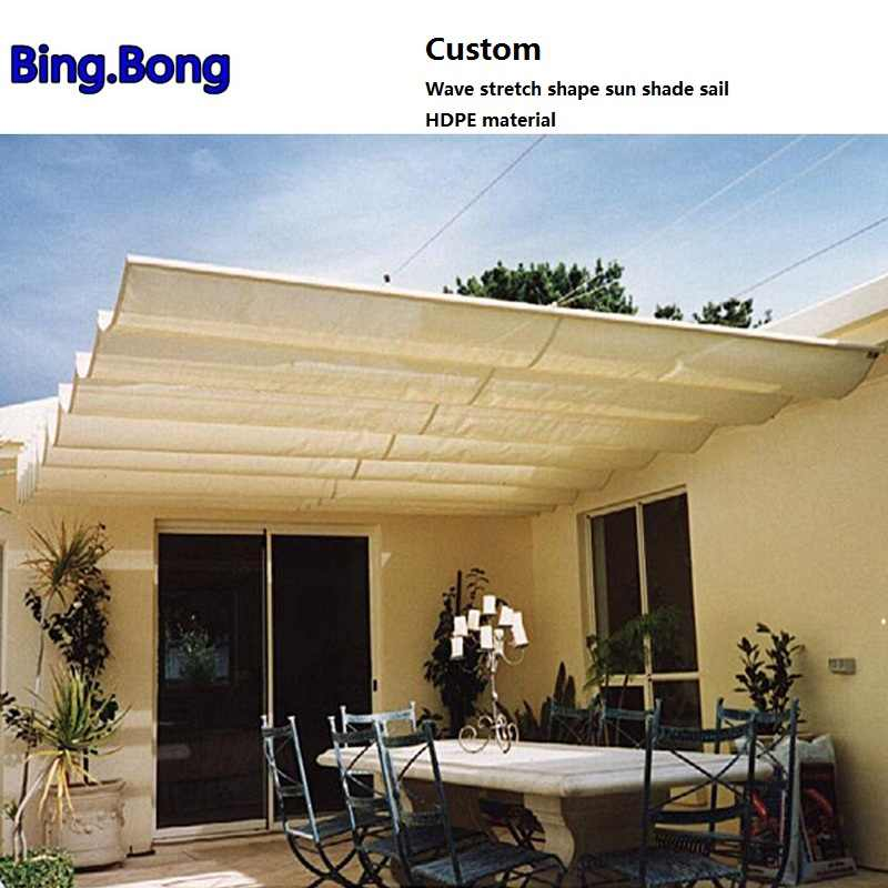 AliExpress & Detail Feedback Questions about Custom Wave stretch shape sun shade ...