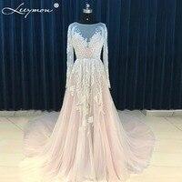 New Real High Quality All Handmade Lace Appliques Tulle Wedding Dress Fashion Elegant Beading Women vestido de noiva 2018