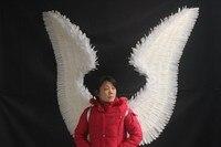Свадебной фотографии/Catwalk для выступления Show/других праздничных вечеринок Мода Большие размеры Перо Крыла Ангела