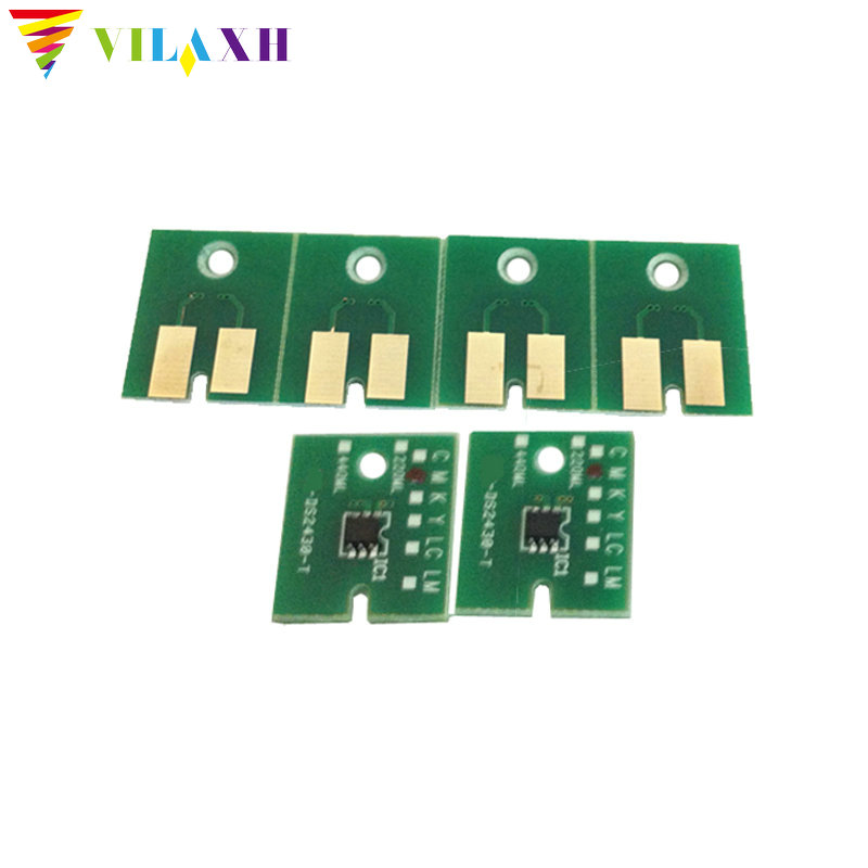 Vilaxh for Roland XF640 XR640 Auto reset chip For Soljet PRO4 Eco Solvent Max 2 XF 640 XR printer