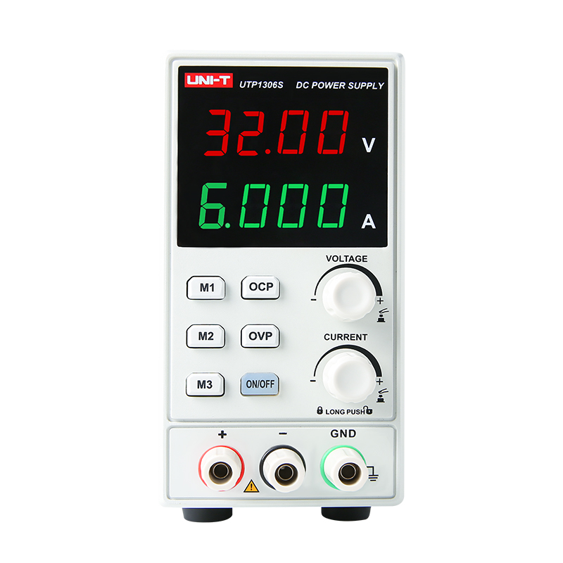 UNI T UTP1306S Switching for DC Power Supply 4 Digits Display with Low Ripple Supply Stabilized Voltage Adjustable Mini Supply in Voltage Regulators Stabilizers from Home Improvement