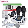 ELERA Estimulador Eléctrico Del Músculo Del Cuerpo Relax Masajeador Adelgazante masaje pulso decenas Acupuntura Terapia Máquina + 8 Almohadillas de Electrodos