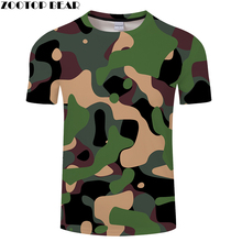 Новинка, высокое качество, 3d футболка, мужская, Армейская, синяя, Армейская, зеленая, камуфляжная, мужская, повседневная, летняя, футболка, короткий рукав, топы, 6xl