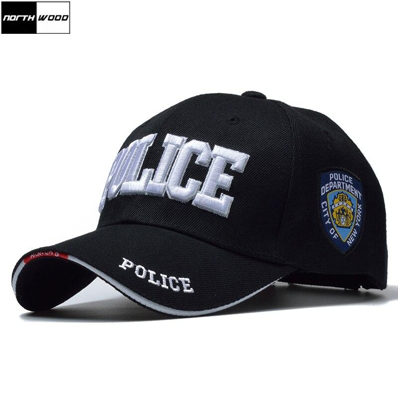 [NORTHWOOD] New POLICE Mens Cap Tattico SWAT Berretto Da Baseball Uomini Gorras Para Hombre Donne Snapback Osso Masculino Army Cap Lettera