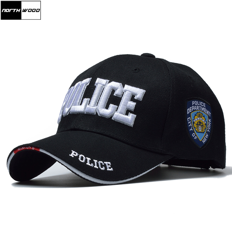[Northwood] nuevo policía mens casquillo táctico SWAT gorra de béisbol de los hombres gorras para hombre mujer SnapBack masculino ejército carta casquillo