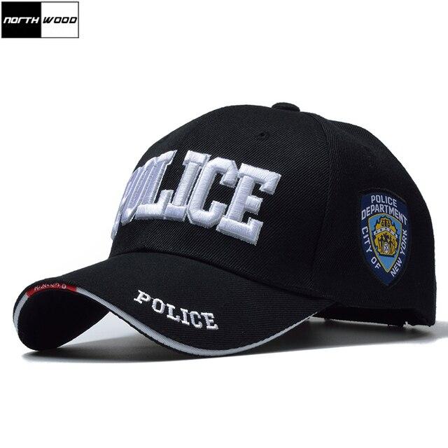 f133edbee4  NORTHWOOD  New POLICE Mens Tactical Cap SWAT Baseball Cap Men Gorras Para  Hombre Women Snapback Bone Masculino Army Cap Letter