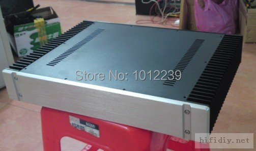 hot sale power amp chassis with heatsink / class A Chassis / home audio amplifier chassis size 430mmX70mm X311mm цены
