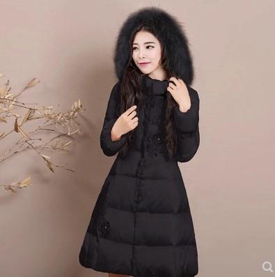 Mujer Abrigo Grueso Negro Abajo 3xl Invierno Chicas S Falda PnPpqwrF