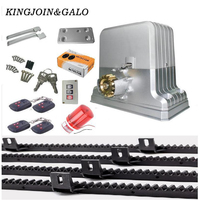 Waterproof Sliding Automatic And Remote Control Gate Opener For 1800kg Portal Weight Sliding Gate Motor Enginee