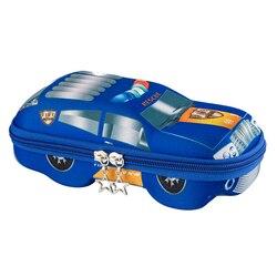 Samochodziki w stylu kreskówki piórnik szkolne pudełko na artykuły biurowe wielofunkcyjny piórnik o dużej pojemności piórnik