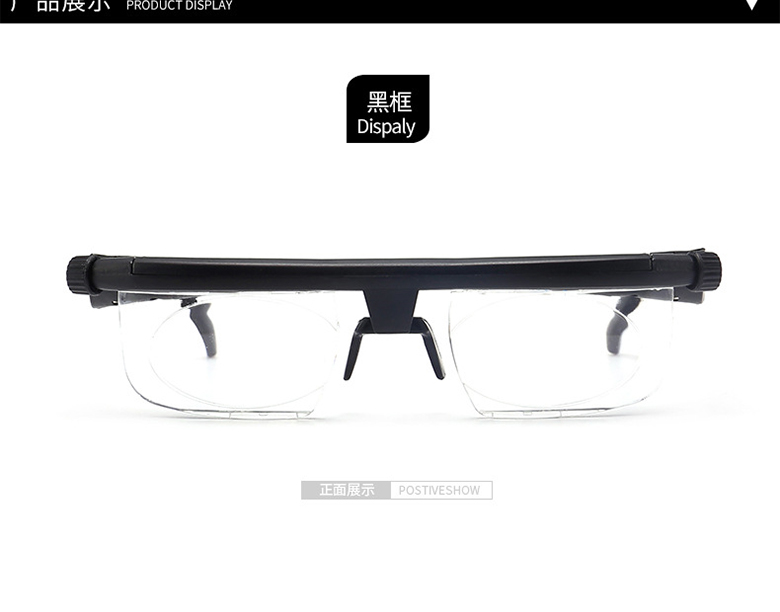 5496ba7269 Women Men Focus Adjustable lens Reading Glasses Myopia Eyeglasses -6D to +3D  Diopters Magnifying Variable Strength Magnifier