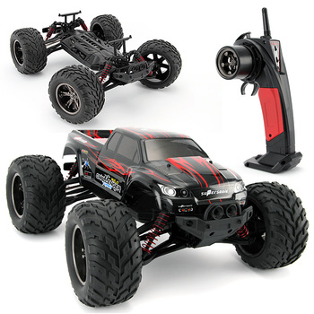 цена на GPTOYS S911 RC Car 2.4G 1:12 1/12 Scale 40KM+ RC RTR Brushed Monster Truck Off-road Car RTR 2.4GHz