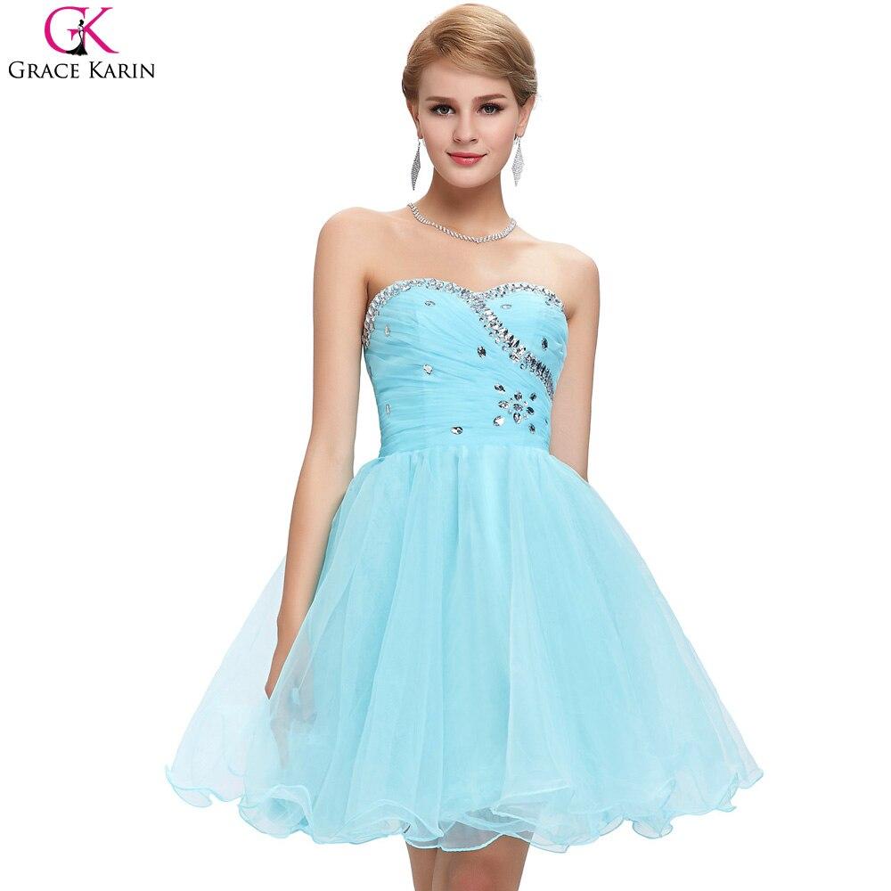 Colorful Red Prom Dresses Short Ensign - Wedding Dress - googeb.com