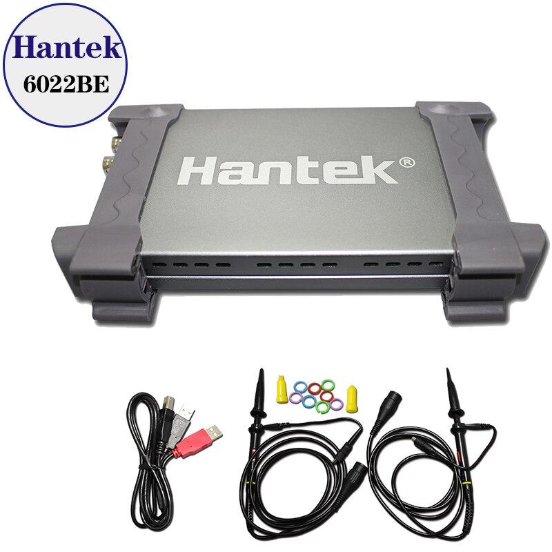 Hantek 6022BE PC Based USB Digital Storag Oscilloscope 2Channels 20MHz 48MSa s with original box