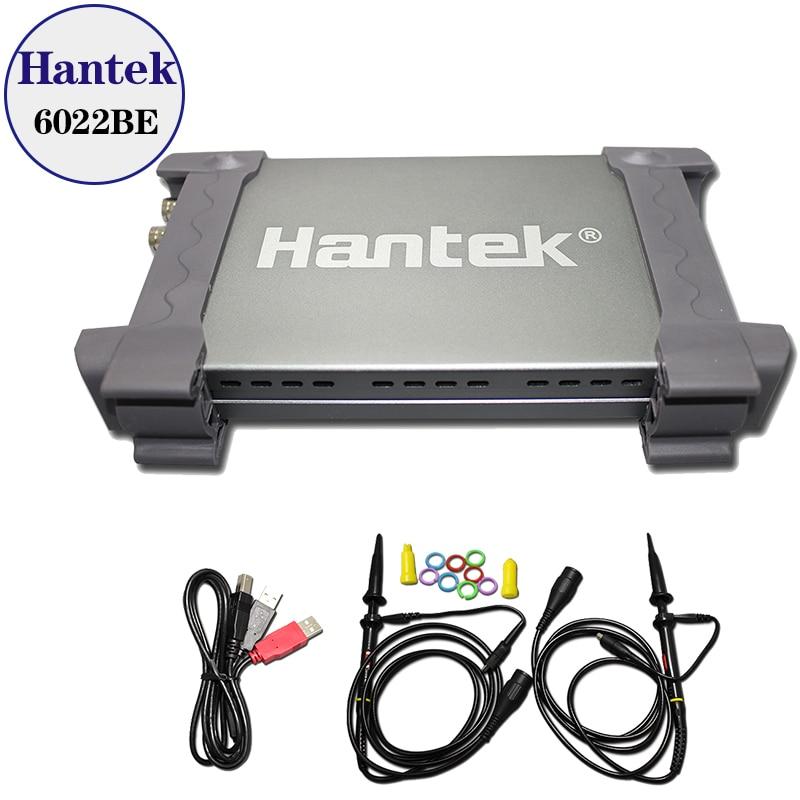 Цифровой осциллограф Hantek 6022BE на базе ПК, USB, 2 канала, 20 МГц, 48 MSA/s с оригинальной коробкой|usb digital storage oscilloscope|usb digital oscilloscopeoscilloscope agilent | АлиЭкспресс
