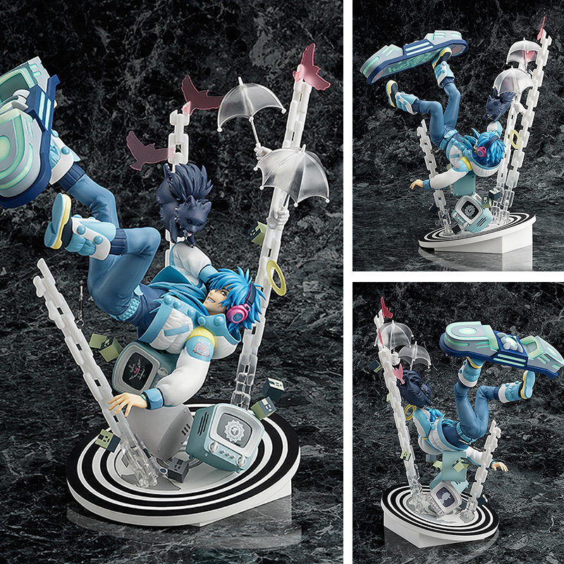 Free Shipping 11 Dramatical Murder DMMD Seragaki Aoba Ren Boxed 28cm PVC Action Figure Collection Model Doll Toy Gift the murder wall