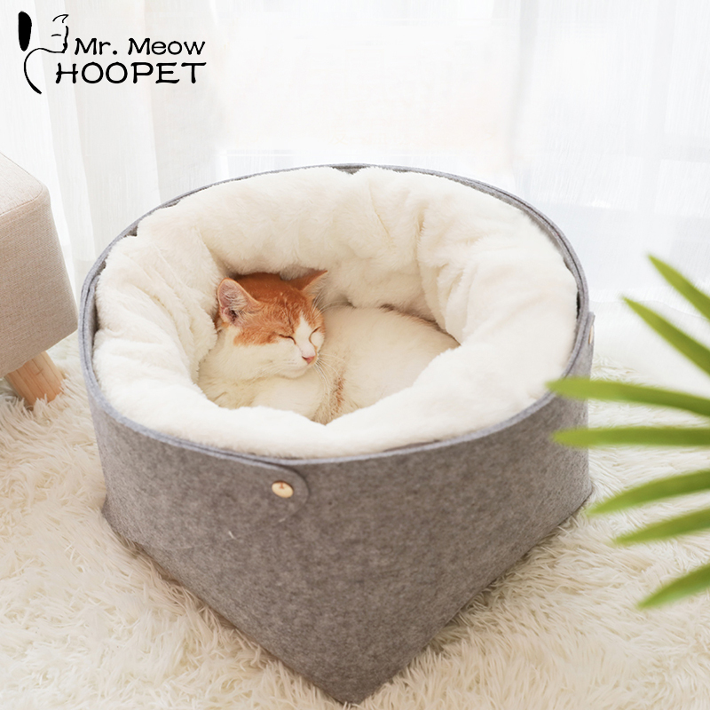 Hoopet Cat Bed Cat House Pet Dog House for Cat Bench for Cats Cotton Pets Products Puppy Soft Comfortable Winter HouseHoopet Cat Bed Cat House Pet Dog House for Cat Bench for Cats Cotton Pets Products Puppy Soft Comfortable Winter House