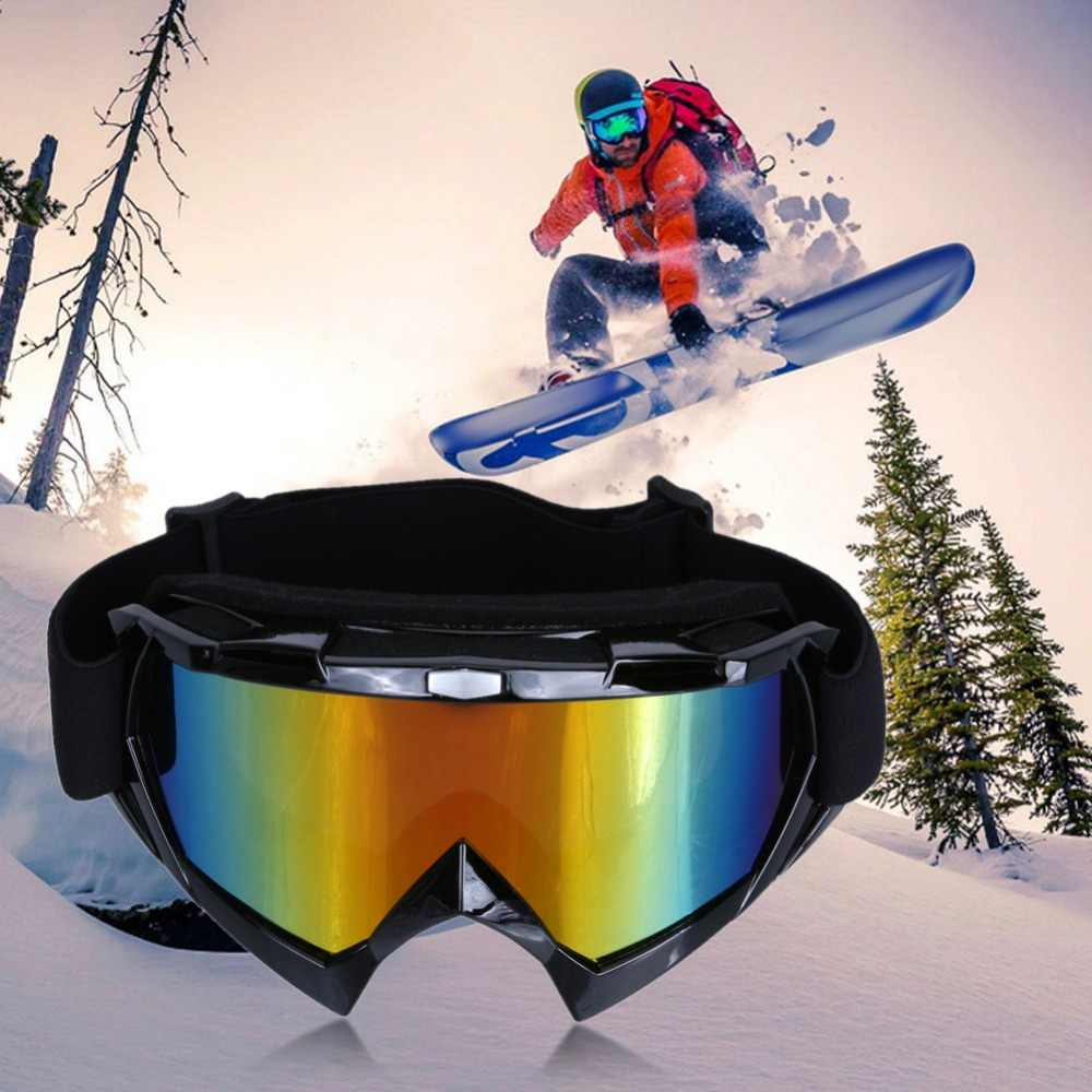 b6100e3c2c Unisex Winter Skiing Bike Cycling Ati-fog Glasses Snowboard Skating  Ati-Wind Goggles