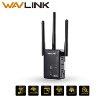 Wavlink AC750 Dual Band WIFI Range Extender Wireless Router WIFI Signal Booster Amplifier With Three External