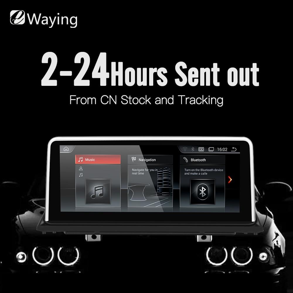 Ewaying 10.25 Quad-Core Android 7.1 2g + 32g pour CCC IPS Voiture multimédia pour BMW x5 E70 X6 E71 GPS Navigation iDrive ID6 EVO NBT