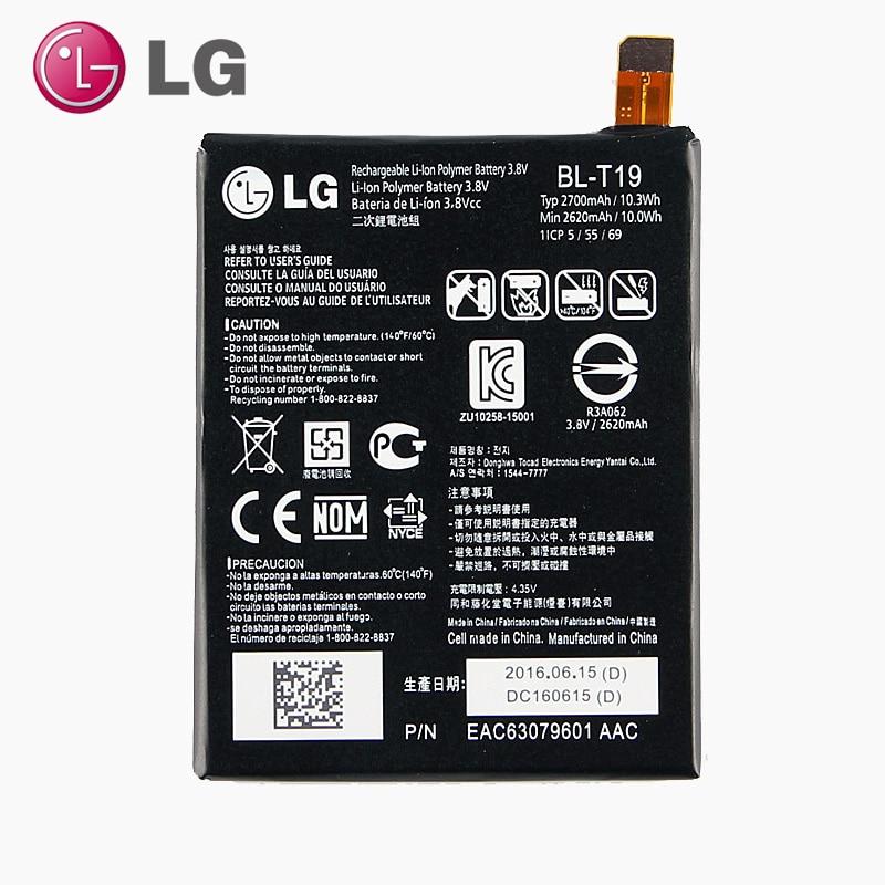 Original LG BL-T19 Internal Battery For LG Nexus 5X H798 H791 H790 BLT19 2700mAh