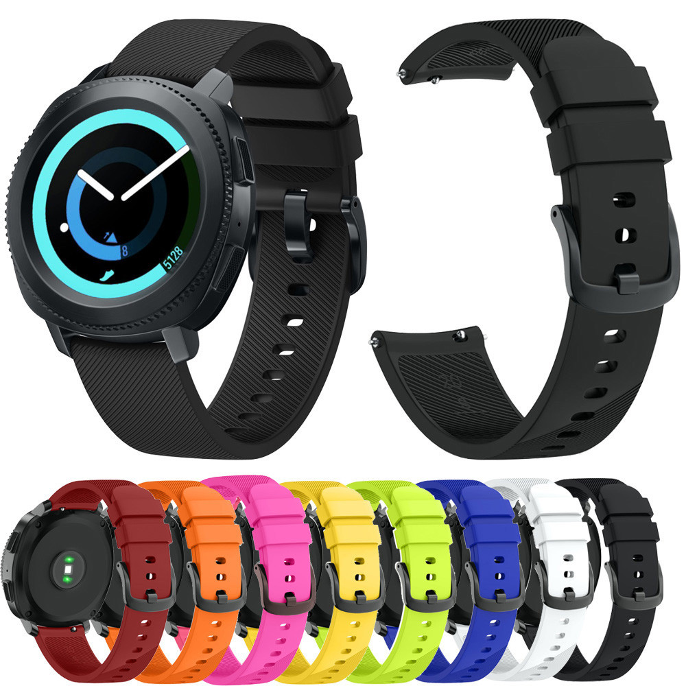 Watchband For Samsung Gear Sport Soft Silicone Replacement Wristband Wrist Strap For Samsung Gear Wholesale supplier