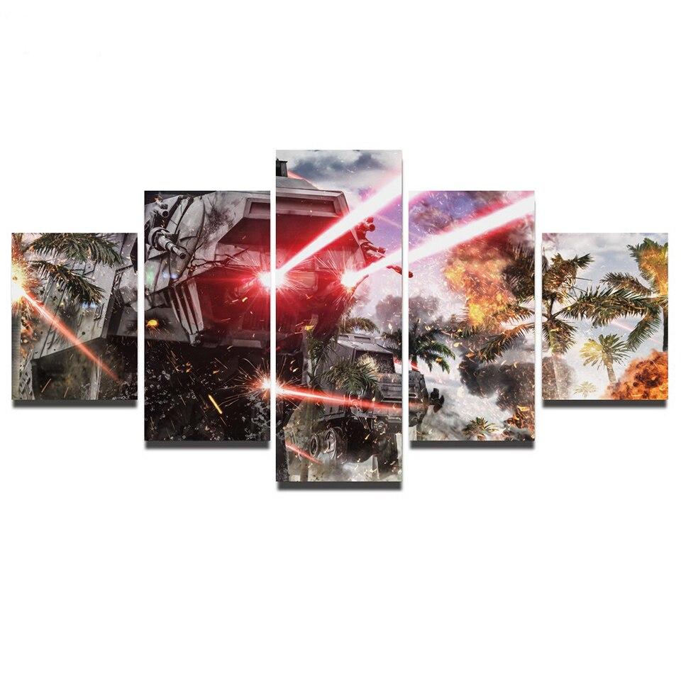 Cartel-modular-HD-impreso-lienzo-pintura-para-Sala-de-Arte-de-la-pared-5-unidades-Star (2)