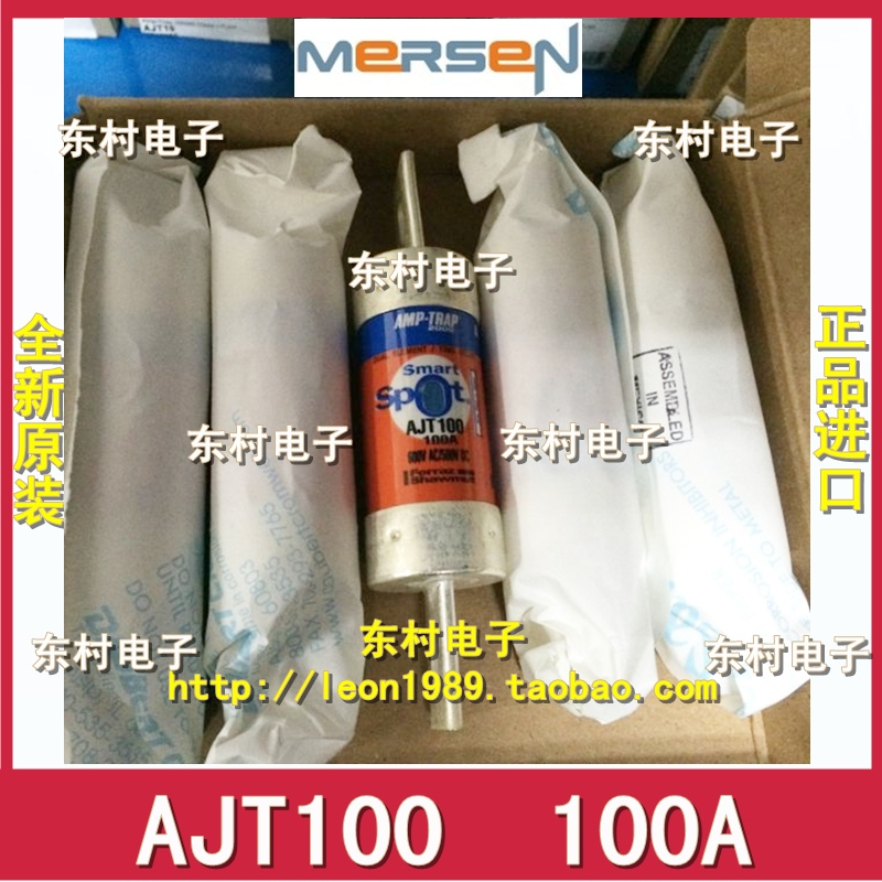 MERSEN Fuse Amp-Trap fuses AJT60 60A AJT100 100A AJT10 600V [sa]roland ferraz mersen fuses amp trap fuse atqr10 10a 600v 5pcs lot