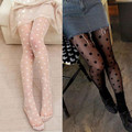Seamless Stockings Tights Pants New Fashion White Black Punk Lace Sheer elastic Polka Dots