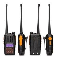 100% Original Dual Band Display Baofeng UV-6R Two-Way Radio Ham Walkie Talkie uv 6r  Pofung Walky Talky Transceiver
