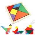 1Pcs Fashion Durable Geometric Wooden Jigsaw Puzzles Kids Education Mental Development Toys for Children board Games