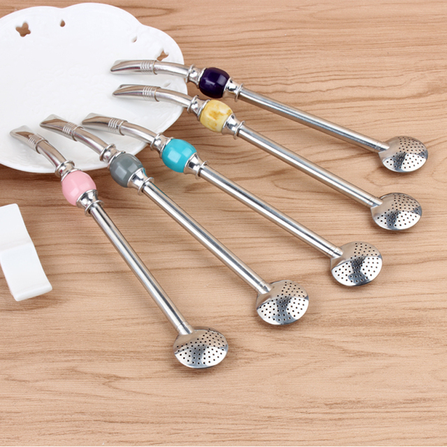 Stainless Steel Reusable Tea Straws