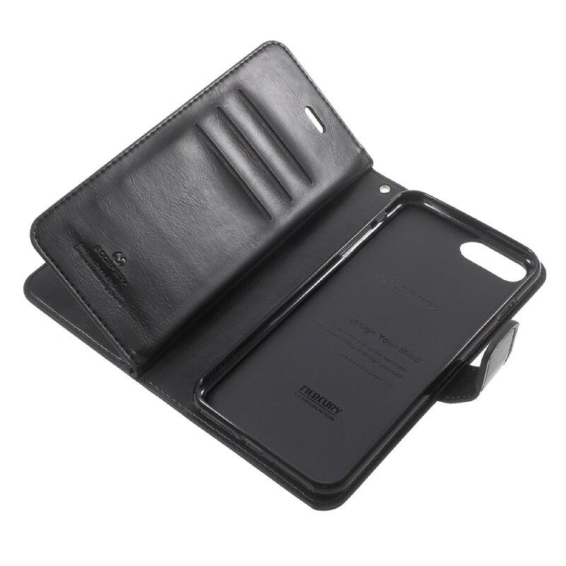 Original MERCURY GOOSPERY Phone Cases Capa for iPhone7 Plus Case Luxury Bag Mansoor Wallet Diary Leather Cover for iPhone 7 Plus