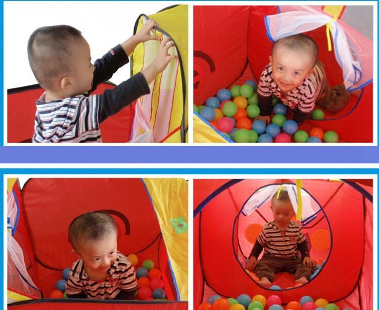 Baby Outdoor Indoor Toys Tunnel Tent Children Playhouse Kids Play Tent Children Play Game House Waterproof 1429472cm  (5)