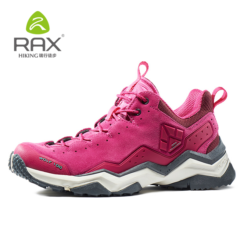 Rax Women's Waterproof Hiking Shoes Outdoor Sports Shoes Walking Cycling Trail Outventure Mountaineering Shoes for Women outventure шарф женский outventure
